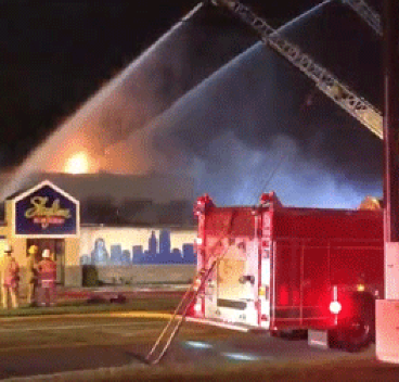 Fire destroys Skyline Chili in Fairfield