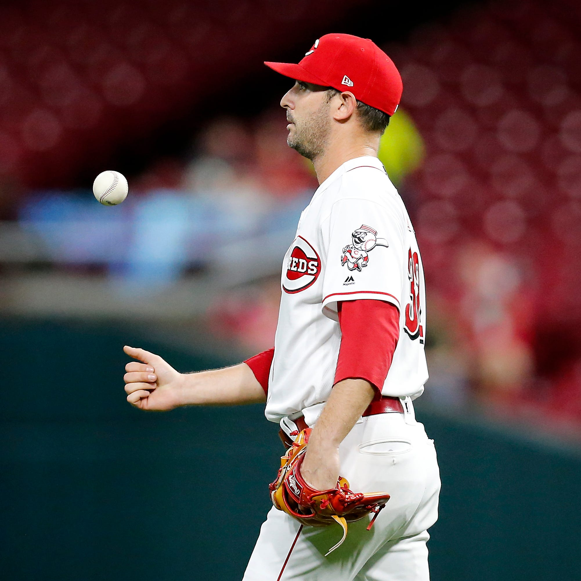 Cincinnati Reds falls to Kansas City Royals; Matt Harvey OK in his final start of the season, 'absolutely' open to returning