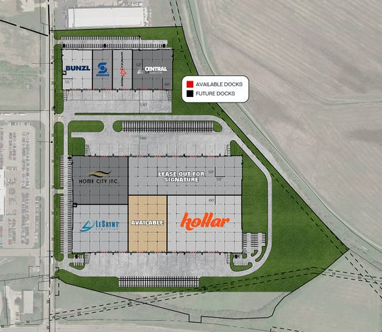 Online retailer Hollar Inc. is moving its distribution fulfillment  center from California to Fairfield's Union Centre Logistics Park.