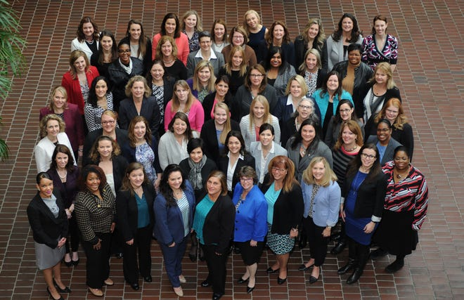 The group photo for the 11th class of the Cincinnati USA Regional Chamber's We Lead leadership program.
