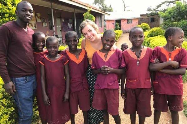 Yesu: Mallory Fundora visits children in Uganda