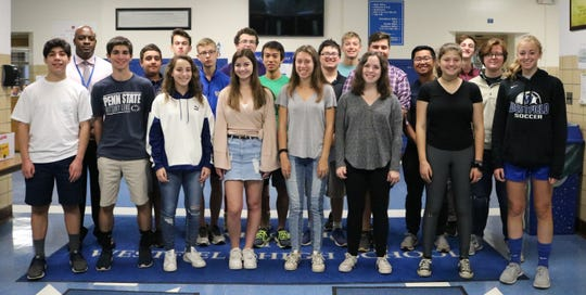 Twenty Westfield High School students received perfect scores on subject tests/areas of the summer SAT and/or ACT.