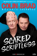 Catch improv comedians Colin Mochrie (left) and Brad Sherwood from Whose Line is it Anyway? in The Scared Scriptless Tour on Thursday, Oct. 4, at State Theatre New Jersey in New Brunswick.