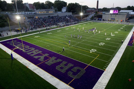 Bracewell Stadium: Burlington, Ia.