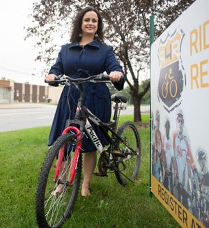 CARE of Southeastern Michigan CEO Monique Stanton poses for a portrait at the Fraser office on Tuesday, Sept. 25, 2018. CARE will be hosting its Ride 4 Recovery on Sunday, Sept. 30, 2018 in Richmond on the Macomb Orchard Trail.
