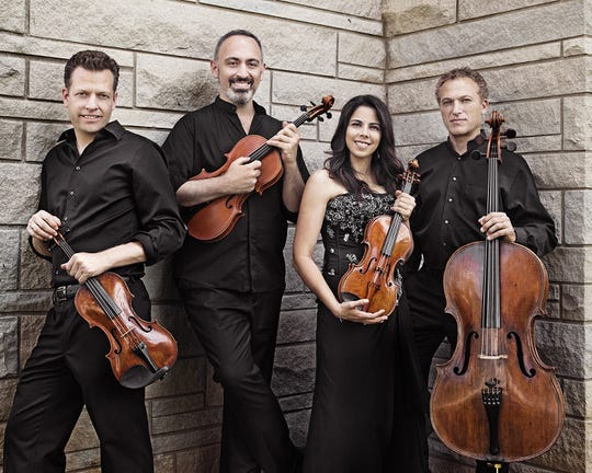 The Pacifica Quartet is currently based at Indiana University in Bloomington, Ind.