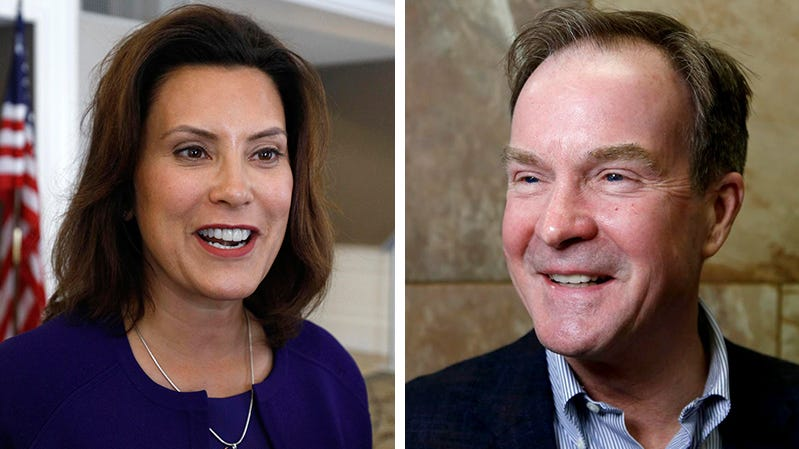 Whitmer and Schuette:  A brief look at Michigan's candidates for governor