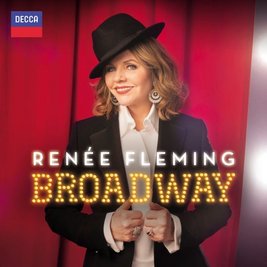 """New album """"Renee Fleming Broadway"""" includes 17 selections from a wide range of Broadway musicals."""