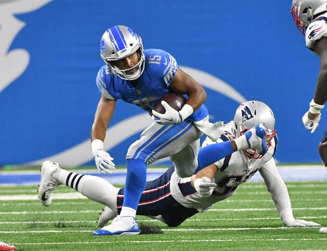 Golden Tate and the Detroit Lions are 4-point underdogs Sunday at the Dallas Cowboys.