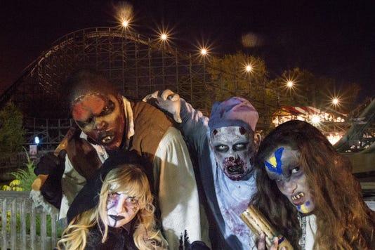 Six Flags Halloween