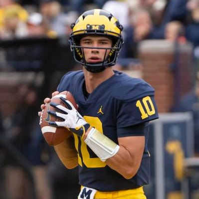 Michigan QB McCaffrey takes off with Harbaugh's advice to 'play free'