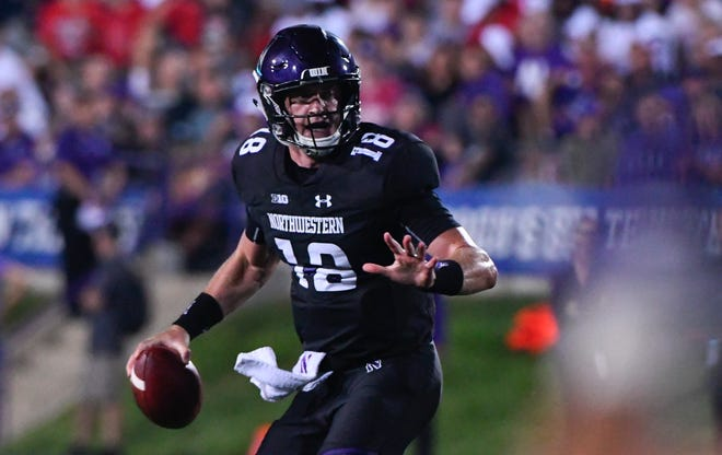 Quarterback Clayton Thorson has started all 42 games during his Northwestern career.