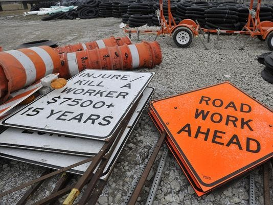 """""""Contractors are going back to work as we speak, using other non-union operators. So many projects will be up and running in very short order,"""" said Mike Nystrom,executive vice president for the Michigan Infrastructure and Transportation Association, Tuesday afternoon."""