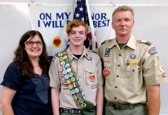 Dawsons Eagle Family Photo