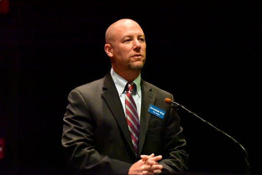 Jeremiah Ray, candidate for Sandusky County Common Pleas Court judge.