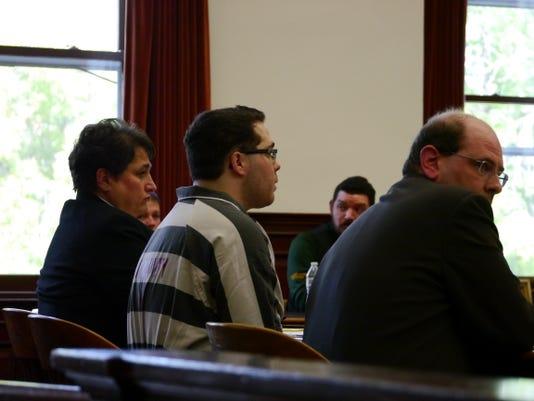 Darionn Tyler Douglas street fighter change of plea court crime