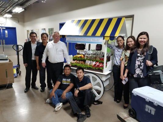 Dusit Thani Donates To Lombok Relief 2018