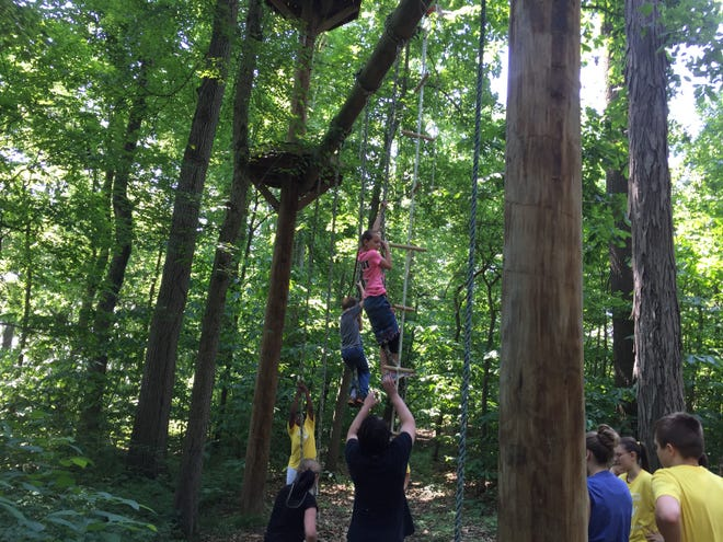 Kids take part in the 2018 Diabetes Adventure Camp, one of many programs  put on by the Henderson County Diabetes Coalition.