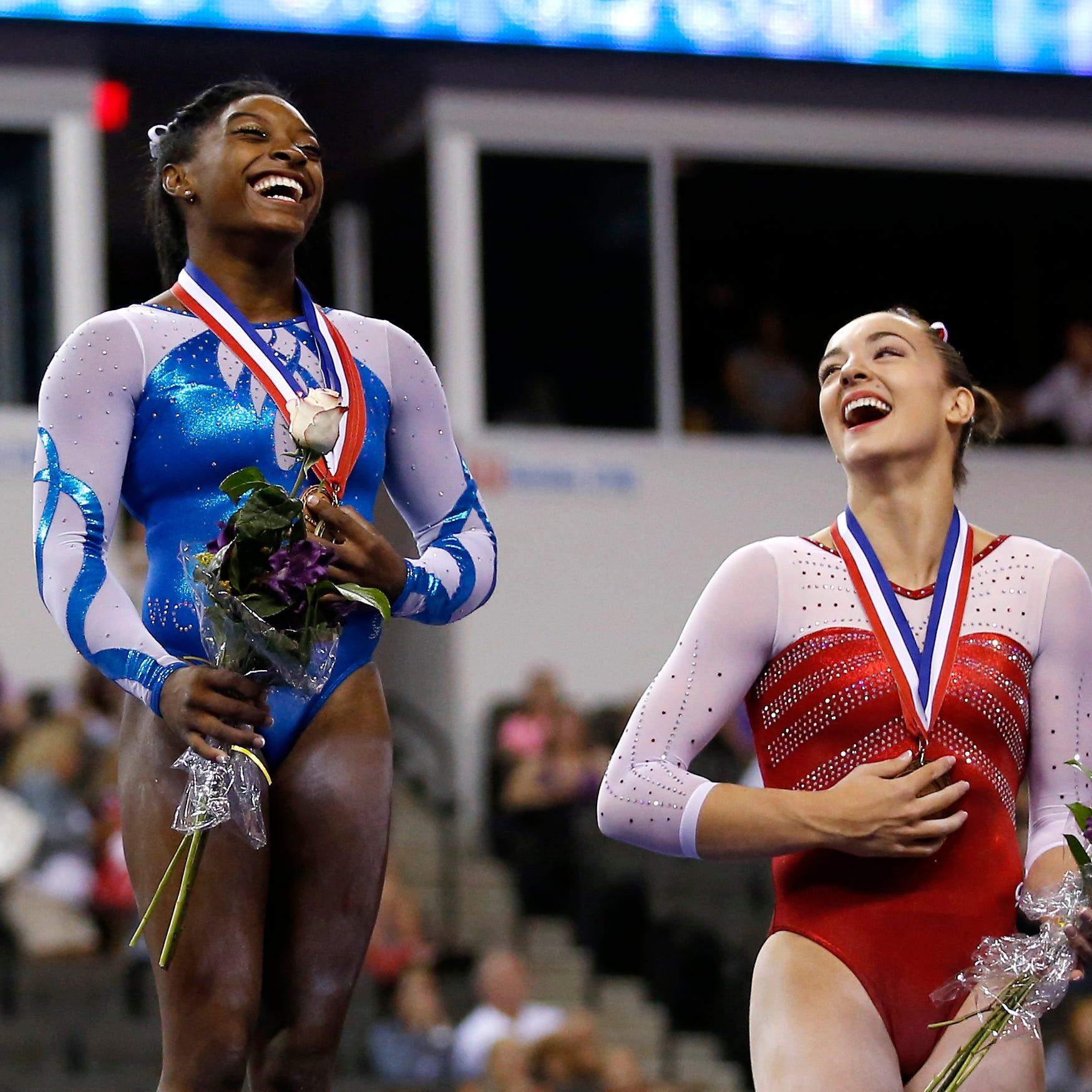 Simone Biles criticizes new gymnastics CEO for anti-Nike tweet
