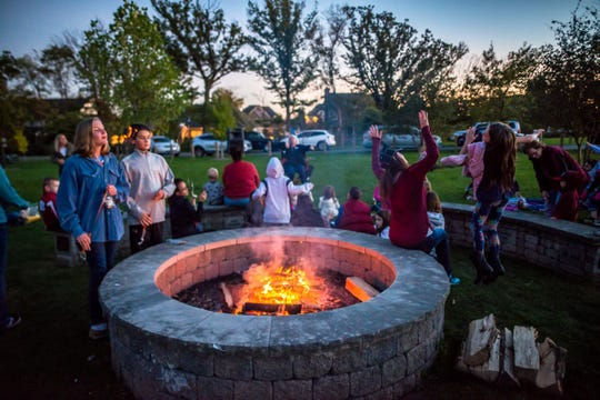 Family-friendly storytime at Westfield's Fireside Tales at Simon Moon Park