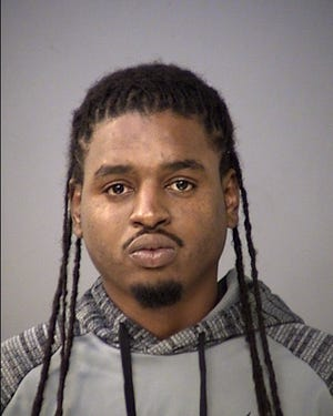 Antonio Eubanks was arrested Sept. 26 on a murder charge in connection with the May death of Sheriff Jallow, according to IMPD.