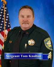 """Sergeant Tom Knolton has been with MCSO since 1995. He received a """"Three Stars of Tennessee"""" award for lifesaving actions on Sept. 12."""