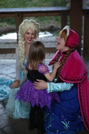 """Costumed characters like the sisters of """"Frozen"""" are part of Zoo Knoxville's BOO! at the Zoo."""