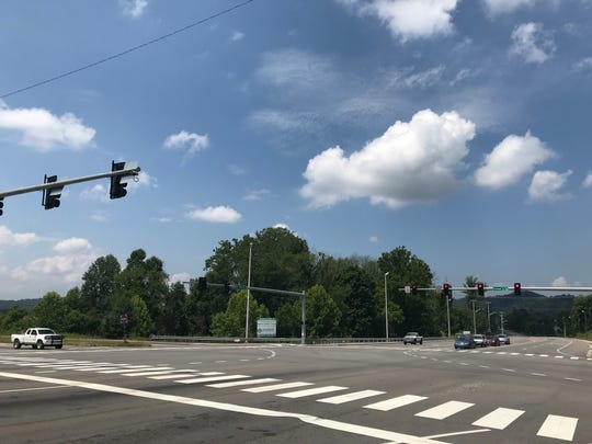 A sizable commercial development is planned at the intersection of Schaad Road and Oak Ridge Highway.