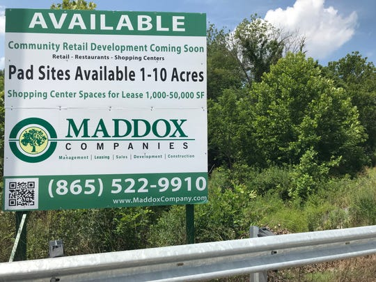 Commercial sites are available at the corner of Schaad Road and Oak Ridge Highway, less than a mile from a proposed subdivision.