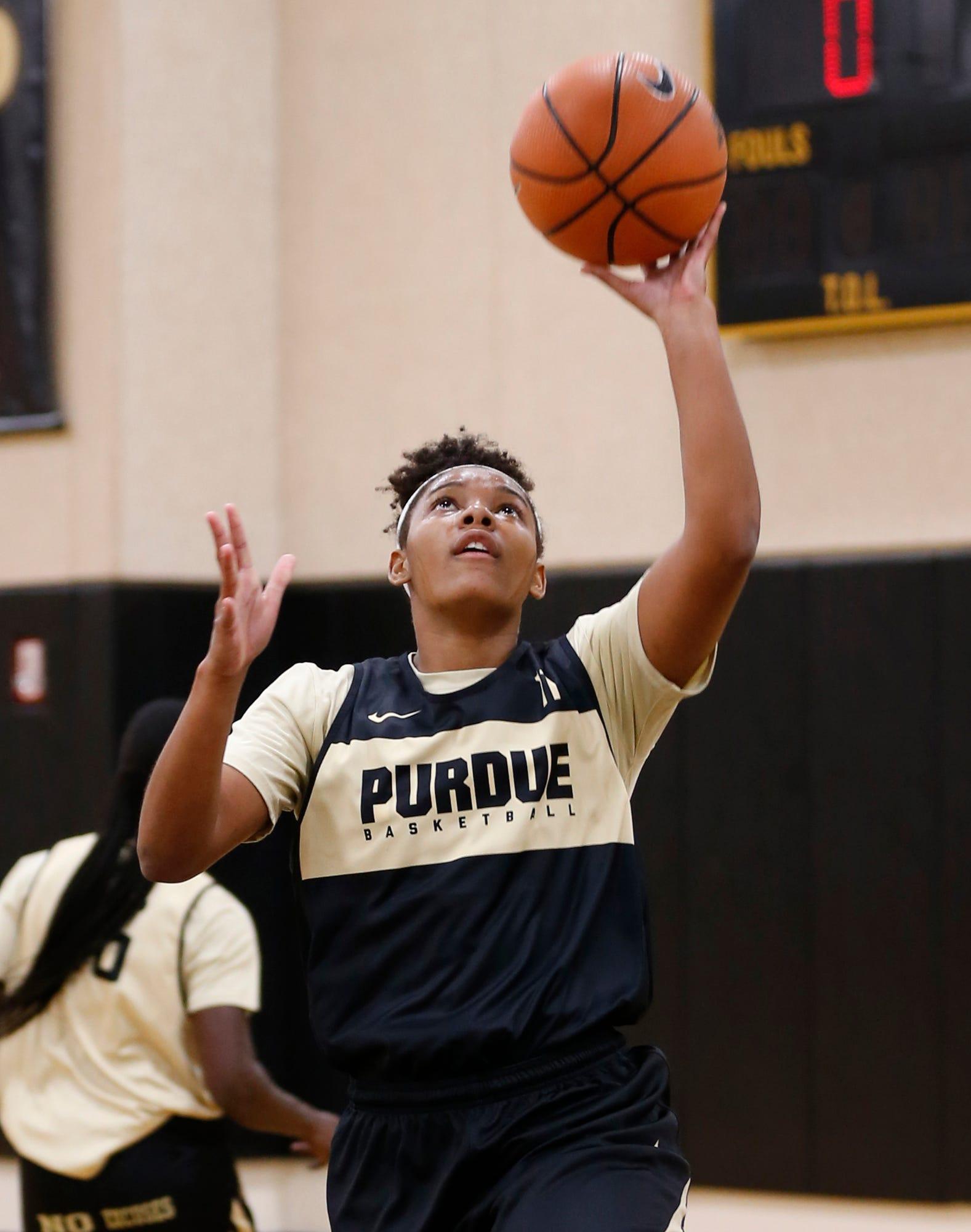 Laf Purdue Women S Basketball Practice