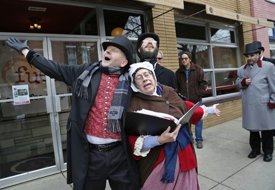Street entertainers will help transform downtown Lafayette into Victorian London during the annual Dickens of a Christmas.