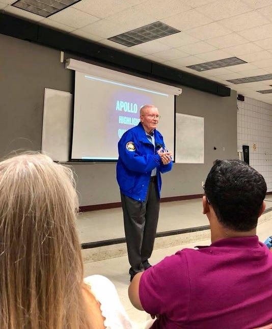 UL Lafayette astronaut 1
