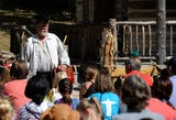 Mark Howes started Frontier Spirit 1799 40 years ago with five volunteers. Now more than 100 volunteers gather for two days to share frontier history.