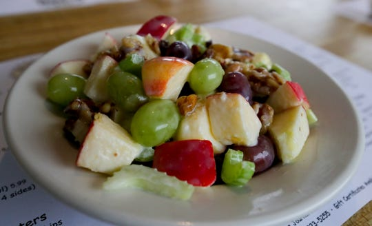 The Waldorf salad from Joe Huber's Family Farm Restaurant.