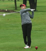 Shelby's Lexi Uplinger, the only senior in the lineup, shot an 81 to help the Whippets shatter their school record with a 302 to win Tuesday's Division II sectional golf tournament.