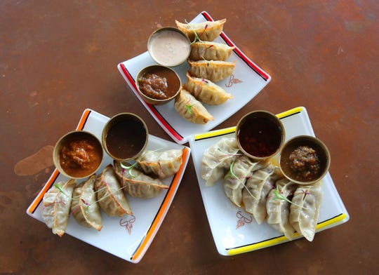 One particular favorite at The Cheel are the Momos, savory dumplings with ginger, red onion and fresh herbs wrapped in delicate flour dough. Momos can come steamed, baked or fried.