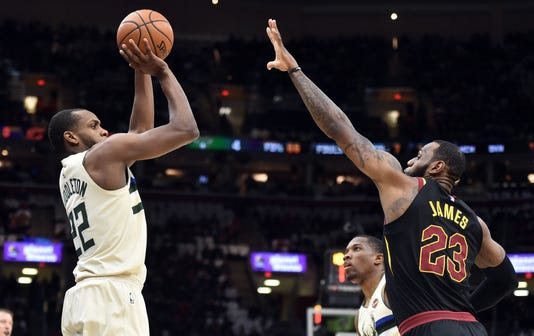 Nba Milwaukee Bucks At Cleveland Cavaliers