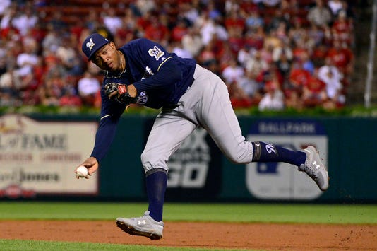 Mlb Milwaukee Brewers At St Louis Cardinals