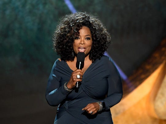 Oprah Winfrey made a video appearance at the Healing Trauma, Healthy Communities Conference in Milwaukee.
