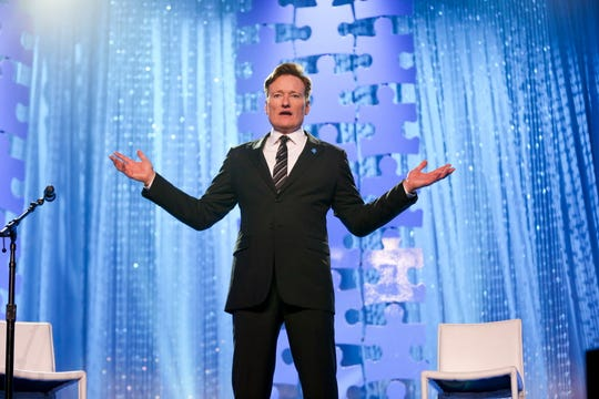 Conan O'Brien will tour for the first time in eight years beginning in November, with a show at the Riverside Theater booked for Nov. 30
