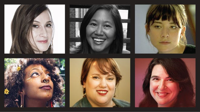 Directors with films in this year's Milwaukee Film Festival include (top, from left) Cynthia Lowen, Stephanie Wang-Breal and Carol Brandt, and (bottom, from left) Gabrielle Tesfaye, Kristin Peterson and Jessica Bursi.