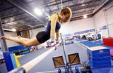 Roxbury High School has just launched a girls gymnastics team with head coach Tara Liska, a former pole vaulter.