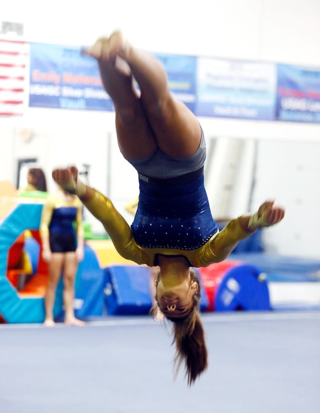 Roxbury NJ gymnastics team a part of rise in teams in Morris County