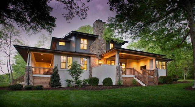 See custom homes at Voce, an new eco-friendly Nashville neighborhood