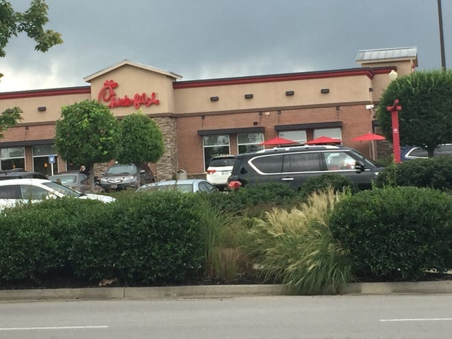 Chick-fil-A in Mt. Juliet is being being remodeled.