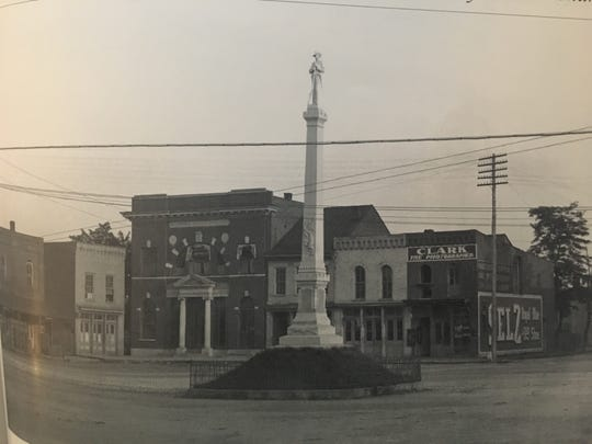 The public square as it looked in 1904.