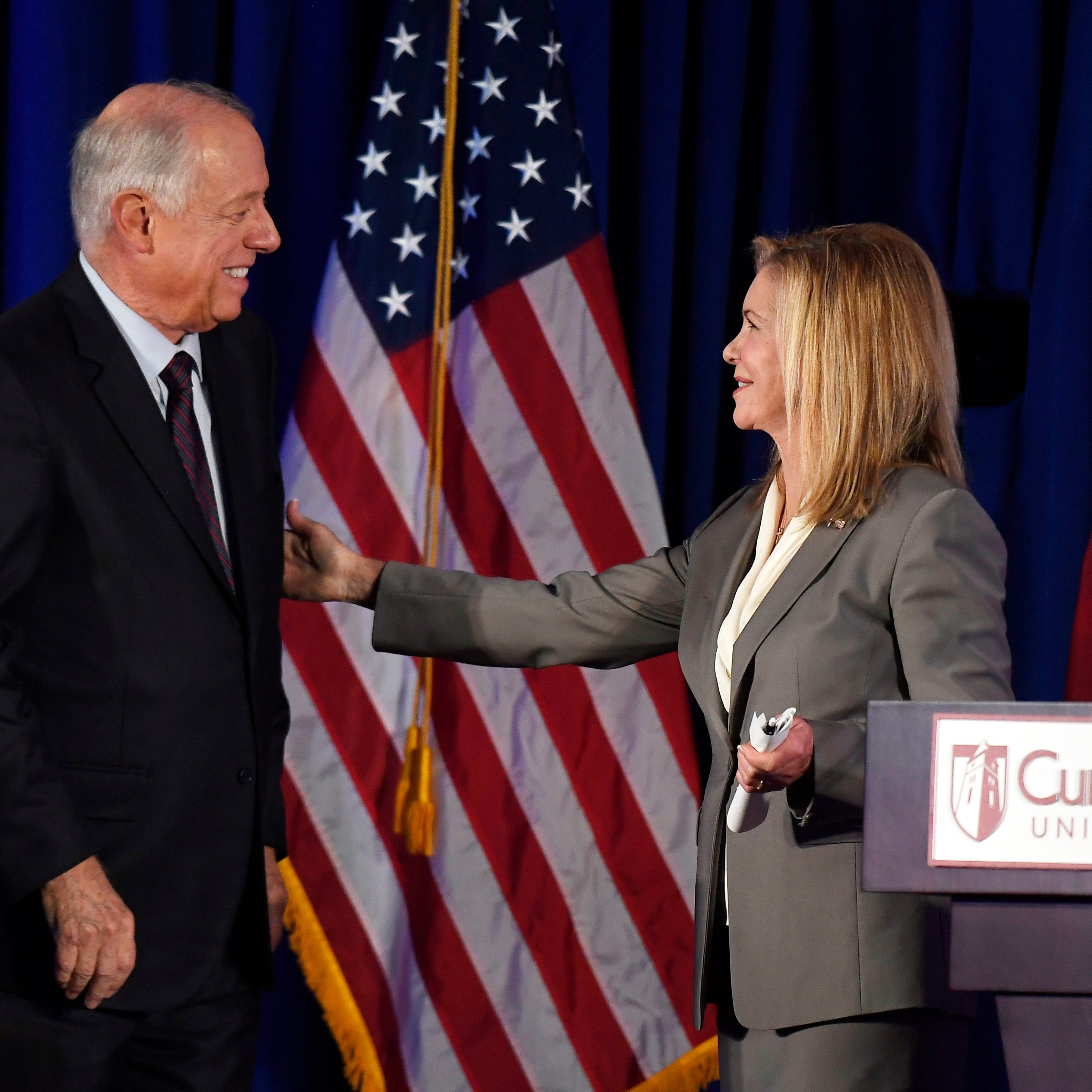 4 takeaways from Tuesday's heated US Senate debate between Marsha Blackburn and Phil Bredesen
