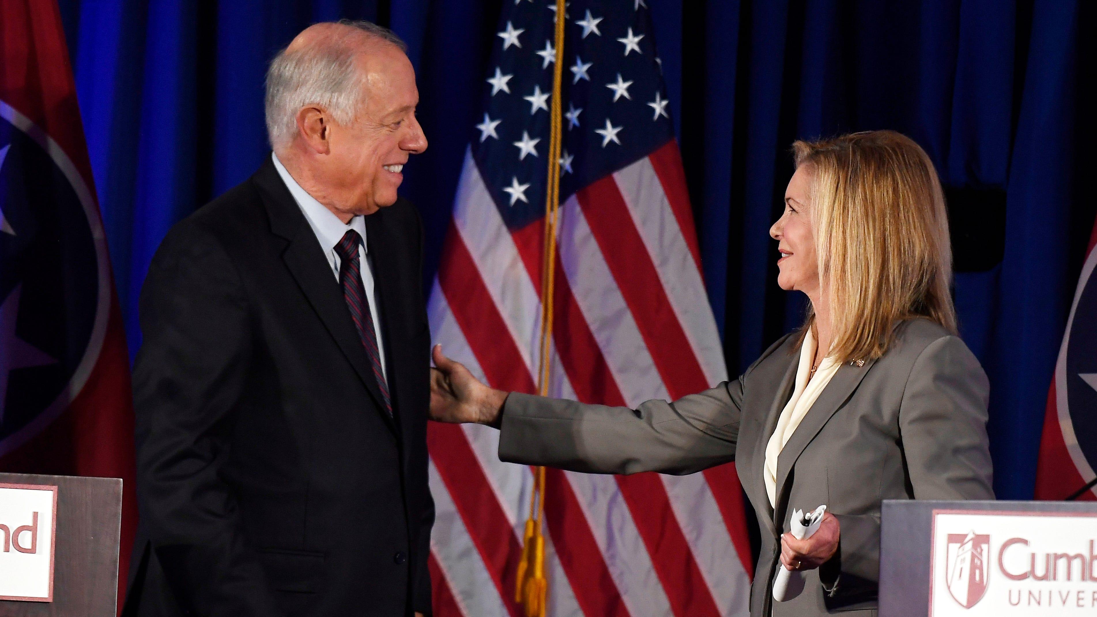 4 takeaways from Tuesday's heated US Senate debate between Marsha Blackburn and Phil Bredesen