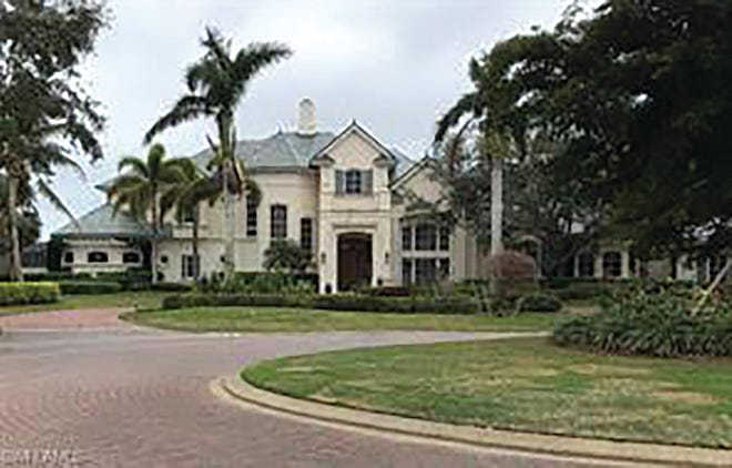 Diamond Custom Homes is in the process of renovating this estate home in Quail West.