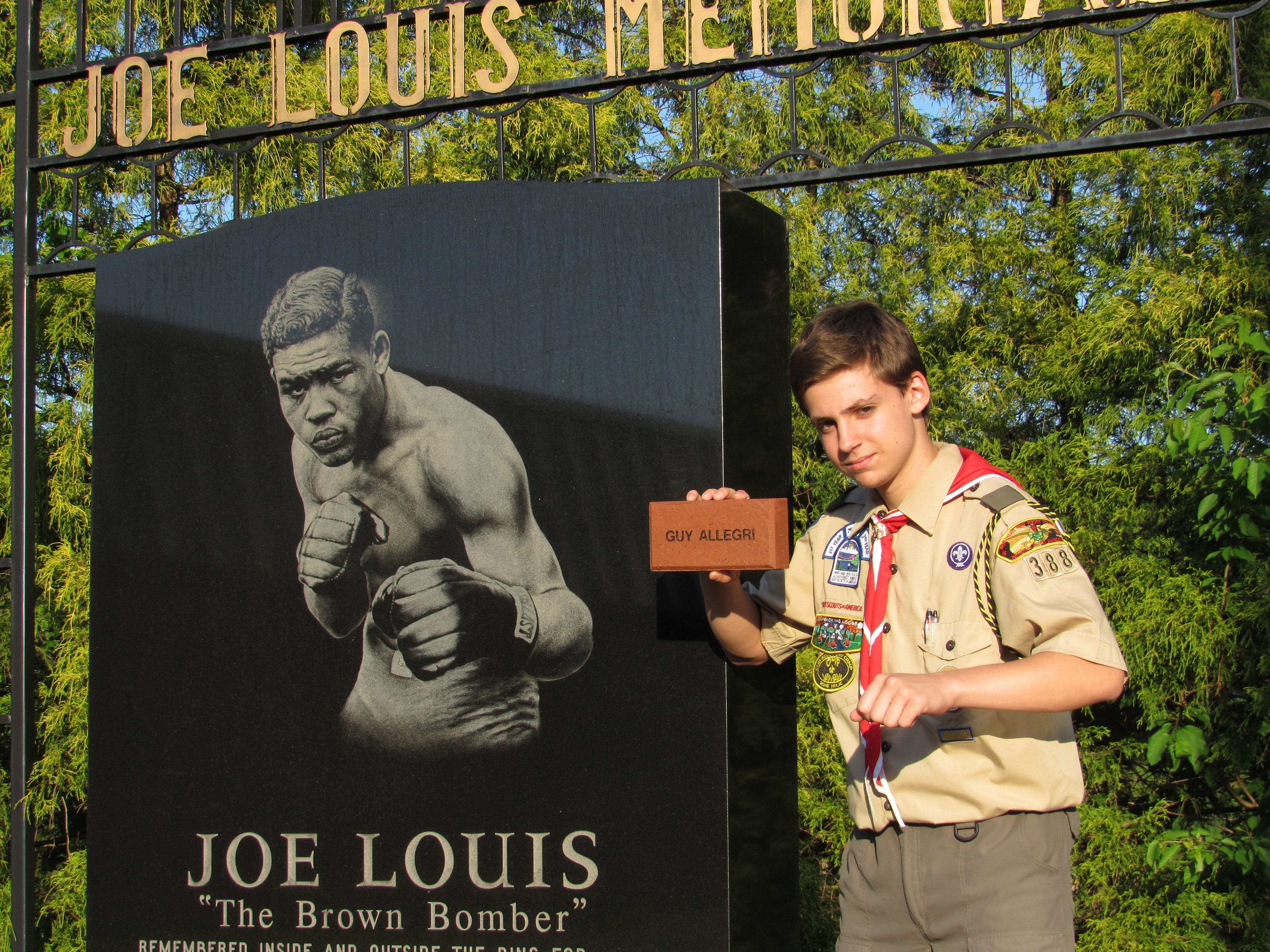 Gaetano Allegri, a Pompton Lakes High School student, is planning to enhance the town's Joe Louis Memorial Park as he endeavors to reach the Eagle Scout rank.